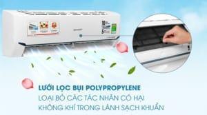 Lưới bụi polypropylene mang lại không khí trong lành cho ngôi nhà bạn