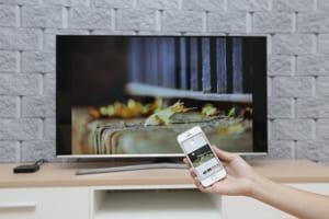 Hướng dẫn cách chiếu màn hình iphone lên tivi không cần dây cáp