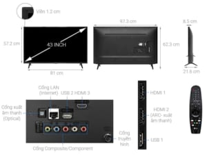 LG 4K 43 inch 43UM7300PTA