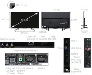 Top 5 Smart Tivi bán chạy Quí 1 năm 2020