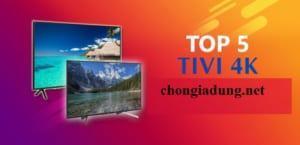 Top 5 tivi 4k bán chạy năm 2020