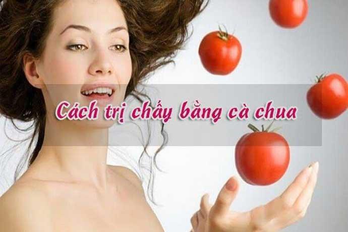 Cách trị chấy bằng cà chua