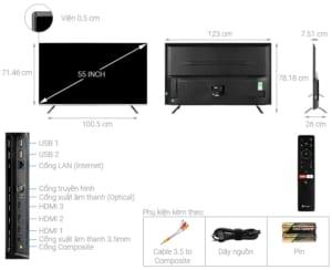 Đánh giá dòng Android Tivi Casper UG6000
