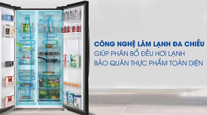 Đánh giá tủ lạnh Toshiba Inverter 513 lít GR-RS682WE