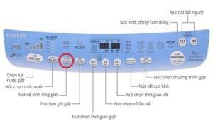Máy giặt Toshiba và tính năng vệ sinh lồng giặt