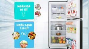Tủ lạnh với ngăn đông bên trên (Top Freezer)