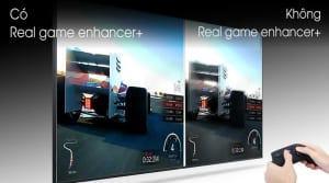 Samsung 4K QA55Q70T - công nghệ Real Game Enhancer+
