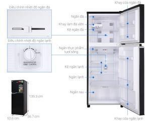 Tủ lạnh Panasonic NR-BA229PKVN