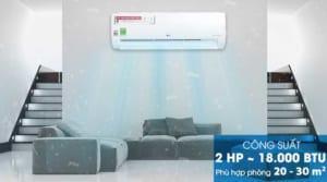 Máy lạnh LG V18ENF