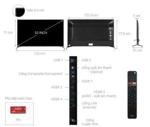 Tivi Sony KD-55X9500H