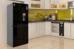 Đánh giá tủ lạnh Sharp Inverter 401 lít SJ-FXP480VG-BK