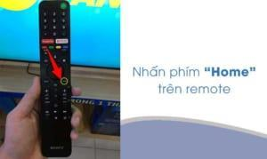 Hướng dẫn chi tiết cách cài đặt thời gian trên tivi Sony