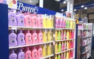 Sữa tắm cho bé Pureen