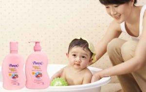 Thương hiệu sữa tắm cho bé Pureen của nước nào có tốt không
