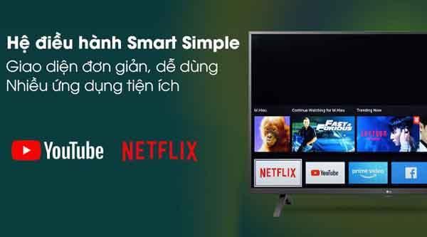 Đánh giá Smart Tivi LG 4K 43 inch 43UN7000PTA