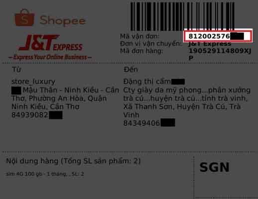 Hướng dẫn chi tiết cách tra cứu vận đơn J&T Express