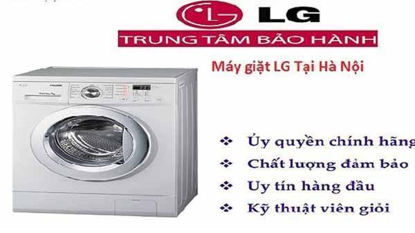 Bảo hành máy giặt LG