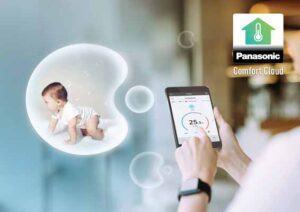 Cách kết nối smartphone với điều hòa panasonic