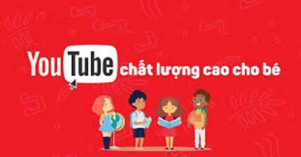 kênh youtube cho bé