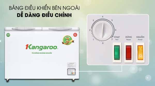 Đánh giá Tủ đông Kangaroo 252 lít KG 400NC2