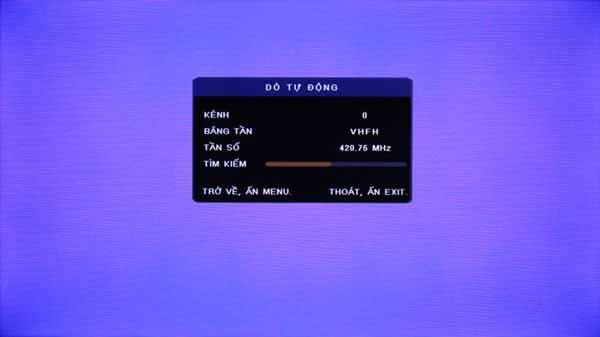 Hướng dẫn 5 bước dò kênh trên tivi TCL thường