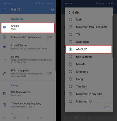 Hướng dẫn bật chế độ Dark Mode cho Facebook cực đơn giản