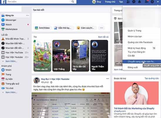 Hướng dẫn cài đặt chế Facebook Night Mode cho máy tính PC