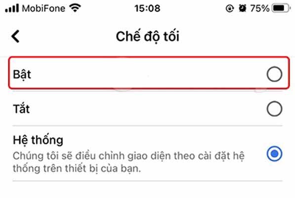 Cách bật, tắt Dark Mode Facebook và Facebook Lite trên điện thoại