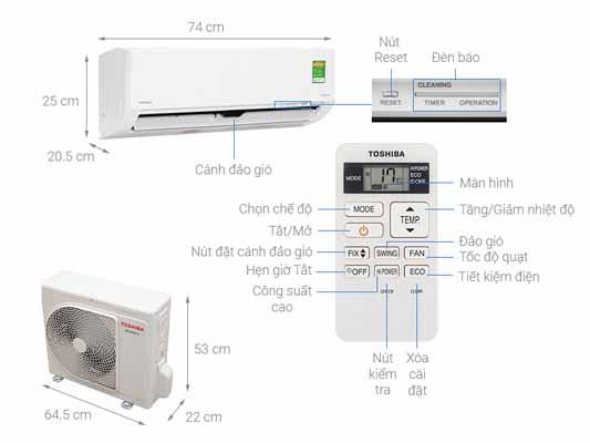Toshiba RAS-H10L3KCVG-V