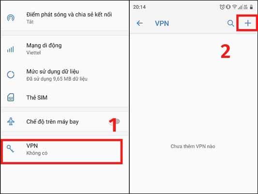 Hướng dẫn chi tiết Thiết lập VPN trên Android