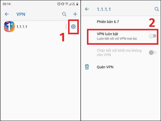 Tự cấu hình VPN trên điện thoại Android KHÔNG cần thông qua ứng dụng