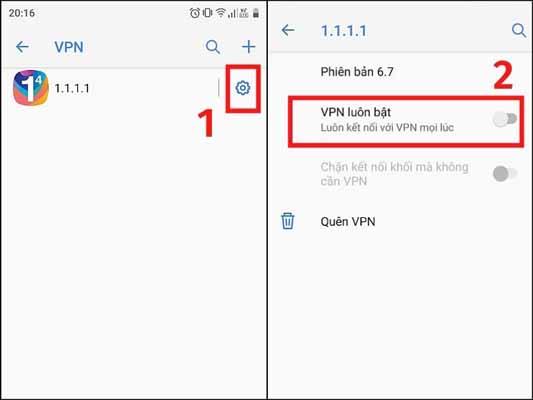 Cách thiết lập mạng riêng ảo (VPN) cho smartphone