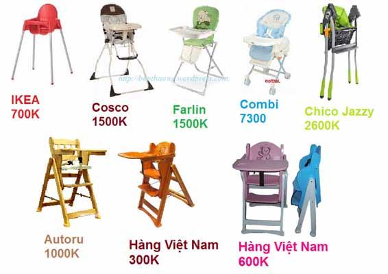 Kinh nghiệm nên mua ghế ăn dặm gỗ hay nhựa cho bé