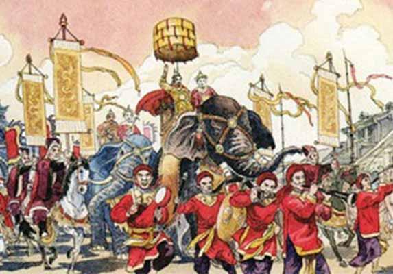 Tìm hiểu Quang Trung Nguyên Huệ là gì của nhau
