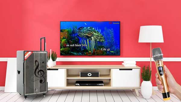 2 cách kết nối loa kéo với tivi để hát karaoke