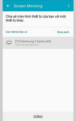 Các cách kết nối điện thoại với tivi Samsung, bạn đã biết chưa