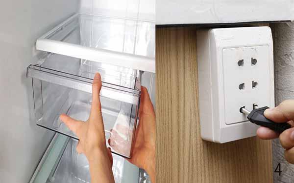 Vệ sinh tủ lạnh bằng giấm vừa nhanh, sạch và tiện lợi