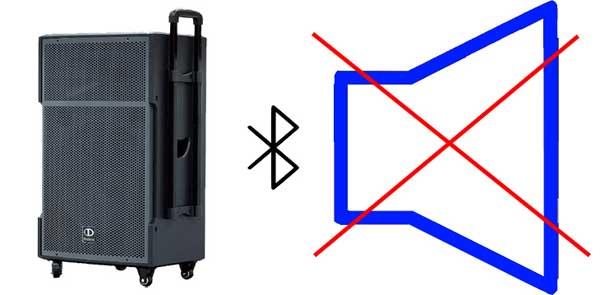 lỗi của loa Bluetooth
