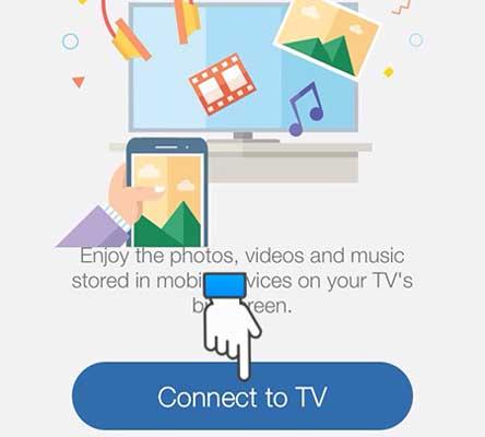 Chiếu điện thoại iphone lên tivi