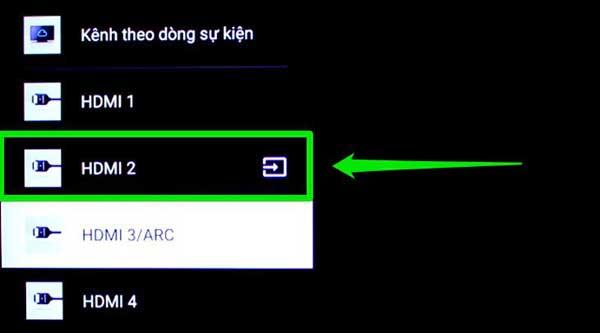 Kết nối bằng HDMI và VGA